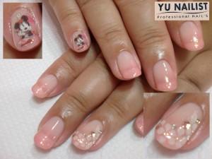 ピンク × ミニー